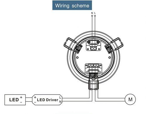 hệ thống dây dẫn cảm biến SS040S paragon