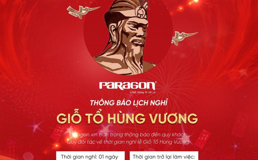 Paragon thong bao nghi le gio to hung vuong 2021